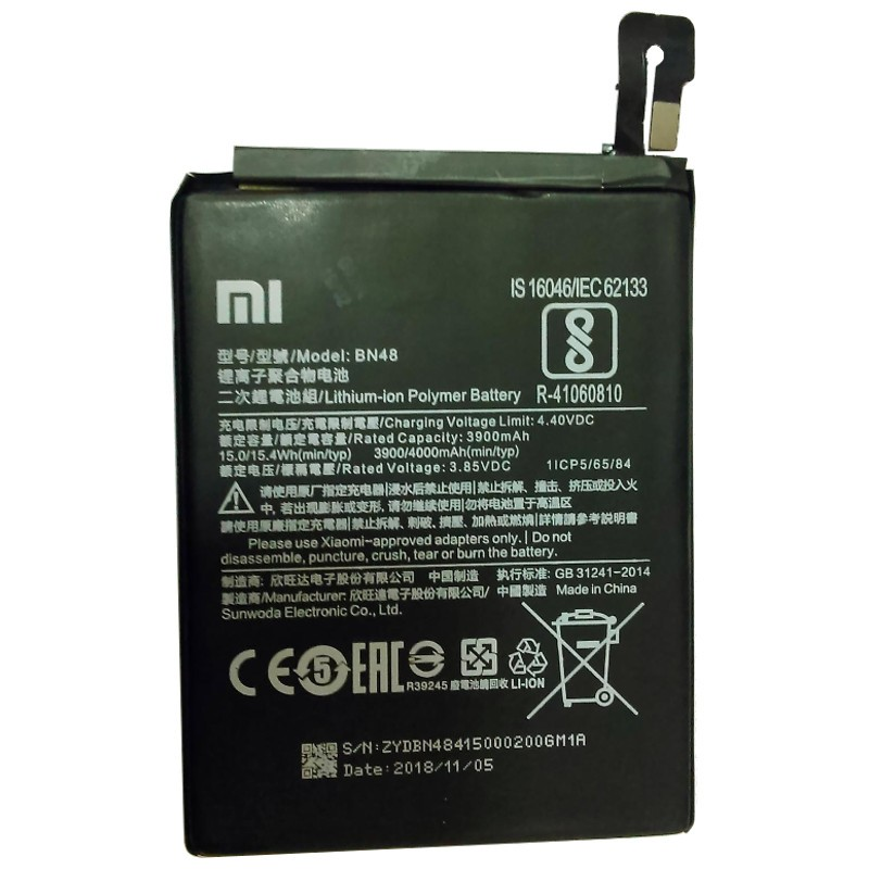 Mejores Baterías Redmi Note 6 Pro
