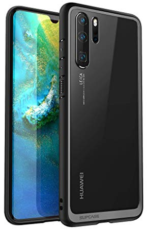 Funda para Huawei P30 Cubierta de fibra de carbono Delgado Gel Suave Silicona