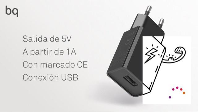 Mejores Cargador Inalambrico BQ E5S