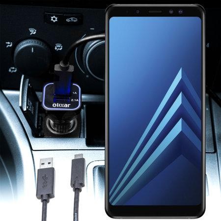 Mejores Cargadores Coche Samsung A8 Plus 2018
