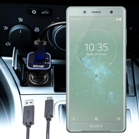 Mejores Cargadores Coche Sony Xperia XZ2 Compact