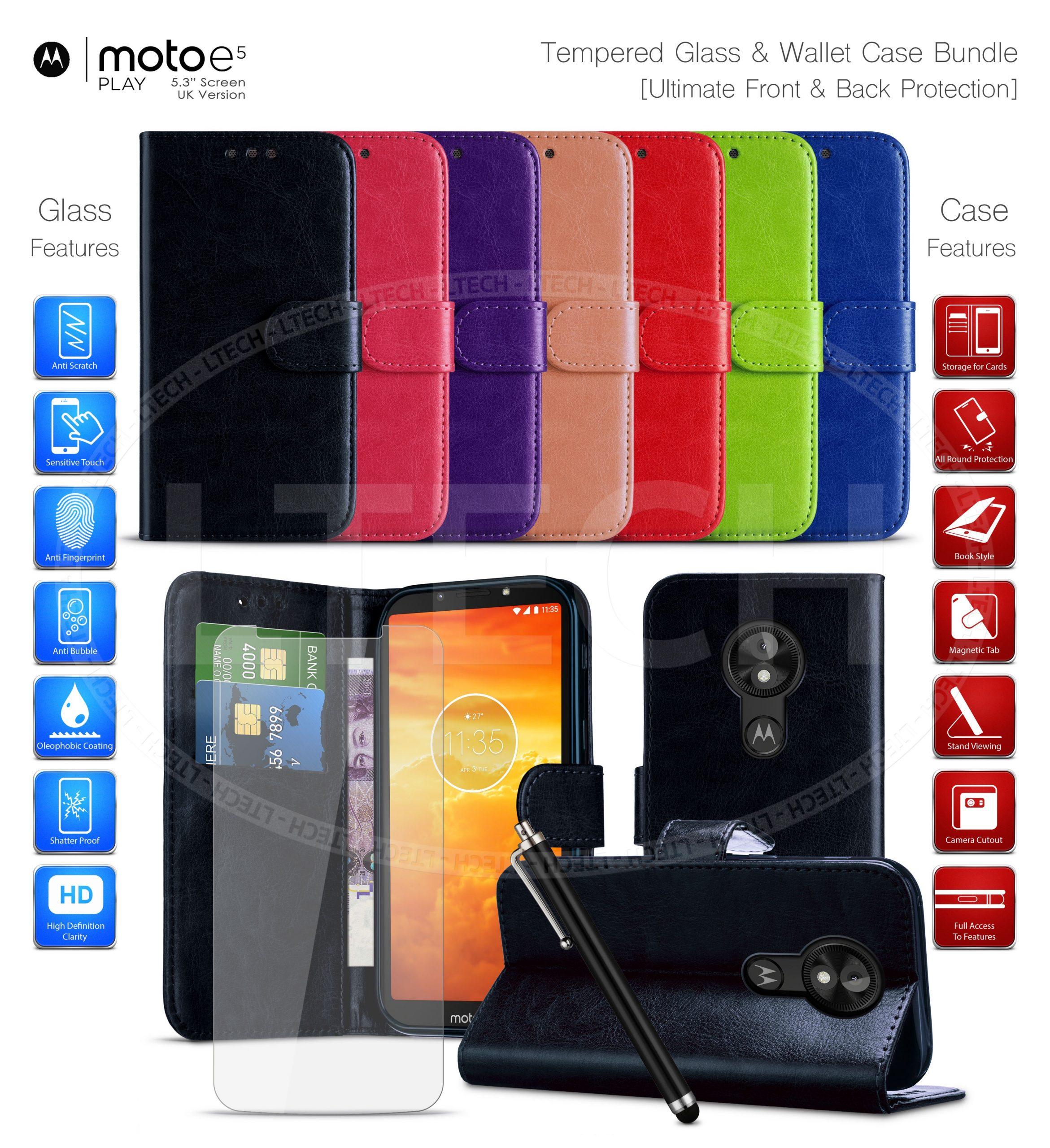 Mejores Fundas Licencia Motorola Moto E5 Play