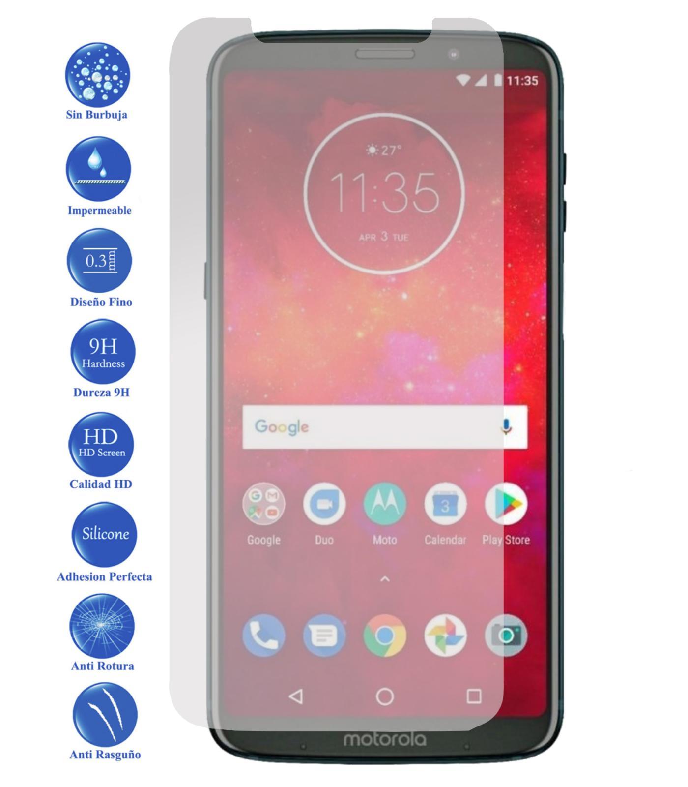 Mejores Protectores de Pantalla Motorola Moto Z2 Play